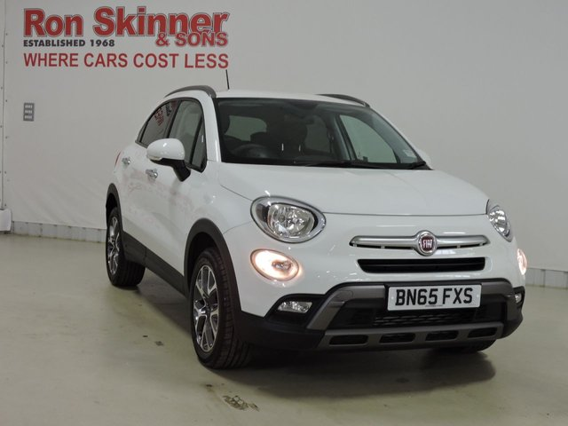 View our 2015 65 FIAT 500X 1.6 MULTIJET CROSS 5d 120 BHP