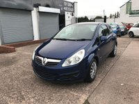 USED 2007 57 VAUXHALL CORSA 1.4 CLUB 16V 3d AUTO 90 BHP 10 SERVICES-SMALL AUTOMATIC-REAR PARKING SENSORS-PETROL-LONG MOT