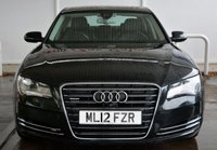 USED 2012 12 AUDI A8 3.0TFSi QUATTRO SE EXECUTIVE SALOON AUTO 290 BHP Finance? No deposit required and decision in minutes.