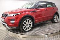 2013 LAND ROVER RANGE ROVER EVOQUE 2.2 SD4 DYNAMIC 5d AUTO 190 BHP £19500.00
