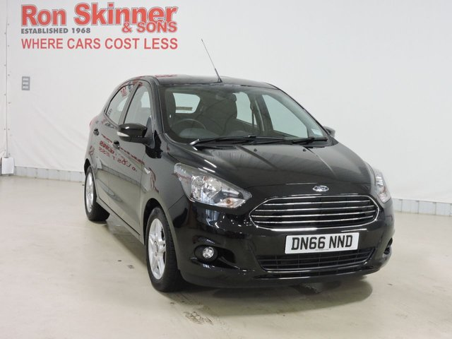 View our 2016 66 FORD KA+ (110)     1.2 ZETEC 5d 84 BHP