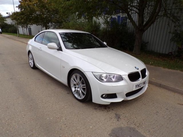 2013 13 BMW 3 SERIES 2.0 AUTOMATIC FULL LEATHER M SPORT 30,000 MILES