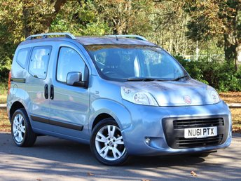 2011 FIAT QUBO 1.2 MULTIJET MYLIFE 5d 75 BHP £3295.00