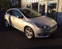 USED 2016 66 FORD FOCUS 1.5 TDCI TITANIUM NAVIGATOR 120 BHP THIS VEHICLE IS AT SITE 2 - TO VIEW CALL US ON 01903 323333