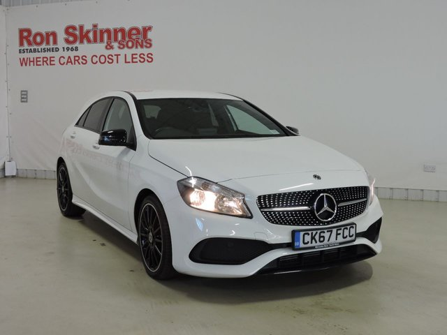 View our 2017 67 MERCEDES-BENZ A-CLASS 1.6 A 160 AMG LINE 5d AUTO 102 BHP