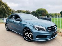 2013 MERCEDES-BENZ A CLASS 1.8 A200 CDI BLUEEFFICIENCY AMG SPORT 5d AUTO 136 BHP £15500.00