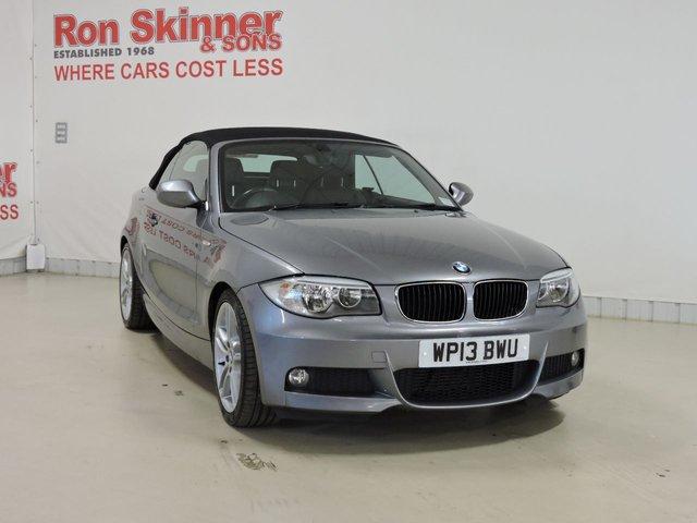 View our 2013 09 BMW 1 SERIES 2.0 118D M SPORT 2d 141 BHP