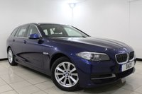 USED 2015 65 BMW 5 SERIES 2.0 520D SE TOURING 5DR AUTOMATIC 188 BHP Full Service History 1 Owner FULL BMW SERVICE HISTORY + HEATED LEATHER SEATS + SAT NAVIGATION PROFESSIONAL + BLUETOOTH + PARKING SENSOR + CRUISE CONTROL + MULTI FUNCTION WHEEL + CLIMATE CONTROL + 17 INCH ALLOY WHEELS