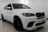 USED 2012 62 BMW X6 3.0 XDRIVE40D 4DR AUTOMATIC 302 BHP SUPERB SERVICE HISTORY + HEATED LEATHER SEATS + REVERSE CAMERA WITH TOP VIEW + SAT NAVIGATION PROFESSIONAL + BLUETOOTH + CRUISE CONTROL + CLIMATE CONTROL + MULTI FUNCTION WHEEL + 20 INCH ALLOY WHEELS