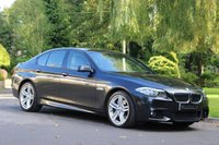 2012 BMW 5 SERIES 3.0 535D M SPORT 4d AUTO 309 BHP £16950.00