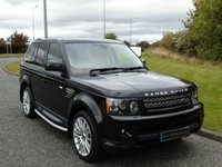 "USED 2012 12 LAND ROVER RANGE ROVER SPORT 3.0 SDV6 HSE 5d AUTO 255 BHP SAT NAV, LEATHER, 20"" ALLOYS"