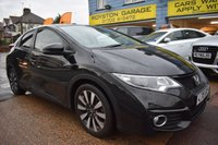USED 2015 15 HONDA CIVIC 1.8 I-VTEC SR 5d AUTO 140 BHP COMES WITH 6 MONTHS WARRANTY