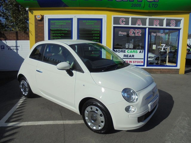 USED 2011 11 FIAT 500 1.2 POP 3d 69 BHP 2 PRIVATE OWNERS FROM NEW....FULL SERVICE HISTORY....VERY LOW MILEAGE
