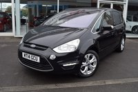 USED 2014 14 FORD S-MAX 2.0 TITANIUM TDCI 5d 161 BHP FINANCE TODAY WITH NO DEPOSIT