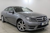 USED 2012 62 MERCEDES-BENZ C CLASS 2.1 C250 CDI BLUEEFFICIENCY AMG SPORT 2DR AUTOMATIC 204 BHP Full Service History SERVICE HISTORY + HALF LEATHER SEATS + BLUETOOTH + PARKING SENSOR + CRUISE CONTROL + MULTI FUNCTION WHEEL + CLIMATE CONTROL + 18 INCH ALLOY WHEELS