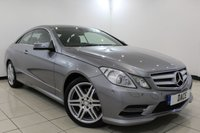 USED 2013 13 MERCEDES-BENZ E CLASS 2.1 E250 CDI BLUEEFFICIENCY S/S SPORT 2DR AUTOMATIC 204 BHP Full Service History FULL MERCEDES SERVICE HISTORY + HEATED LEATHER SEATS + SAT NAVIGATION + PARKING SENSOR + BLUETOOTH + CRUISE CONTROL + CLIMATE CONTROL + MULTI FUNCTION WHEEL + 18 INCH ALLOY WHEELS
