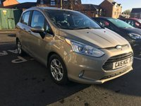 USED 2015 15 FORD B-MAX 1.5 ZETEC TDCI 5d 74 BHP ONLY 2871 MILES AND FULL HISTORY! CHEAP TO RUN, LOW CO2 EMISSIONS, £20 ROAD TAX AND EXCELLENT FUEL ECONOMY!..EXCELLENT SPECIFICATION INCLUDING PARKING SENSORS, ALLOY WHEELS, FRONT HEATED WINDSCREEN, AND AUXILLIARY INPUT/USB CONNECTION!