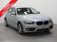 USED 2015 65 BMW 1 SERIES 1.5 116D SE 5d 114 BHP Just 1 previous owner and with full BMW Service History, being serviced in February 2017 at 13,976 miles and July 2018 at 28,170 miles, this is a stunning BMW 1 Series in metallic Silver. The car comes with an MOT until 17th July 2019, SAT NAV, Bluetooth, Air Conditioning, Alloys, £0 Road Fund Licence and a Free Warranty. Nationwide Delivery Available. Finance Available at 9.9% APR Representative.