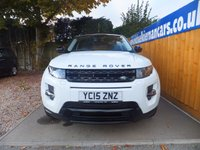 USED 2015 15 LAND ROVER RANGE ROVER EVOQUE 2.2 SD4 DYNAMIC 5d AUTO 190 BHP SAT NAV, PAN ROOF, FSH