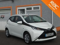 USED 2015 15 TOYOTA AYGO 1.0 VVT-I X-PLAY 5d 69 BHP 1 Owner