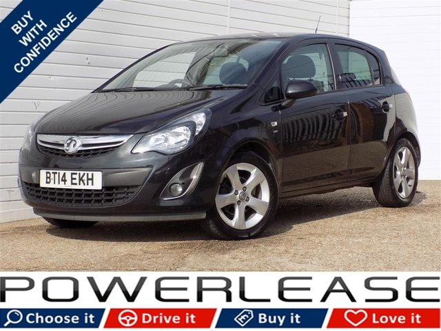 USED 2014 14 VAUXHALL CORSA 1.4 SXI AC 5d 98 BHP FULL SERVICE HISTORY 1 OWNER