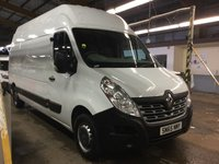 2015 RENAULT MASTER 2.3 LH35 BUSINESS ENERGY DCI H/R 135 BHP L3 H3 RARE HIGH TOP £9950.00