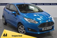 USED 2015 15 FORD FIESTA 1.6 TITANIUM ECONETIC TDCI 3d 95 BHP (ONE OWNER WITH FULL FORD HISTORY)