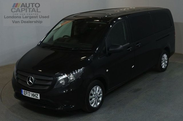 2017 17 MERCEDES-BENZ VITO 2.1 114 BLUETEC TOURER SELECT EXTRA LWB 136 BHP EURO 6 AIR CON 9 SEATER £23,750 PLUS VAT EURO 6 ENGINE