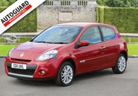 USED 2011 11 RENAULT CLIO 1.1 DYNAMIQUE TOMTOM 16V 3d 75 BHP Finance options available