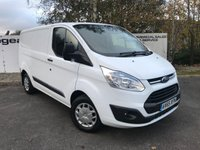 USED 2016 65 FORD TRANSIT CUSTOM 290 125 BHP TREND L1 H1 **CHOICE FROM 70 VANS**