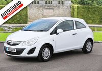 USED 2011 11 VAUXHALL CORSA 1.0 S ECOFLEX 3d 64 BHP Finance options available