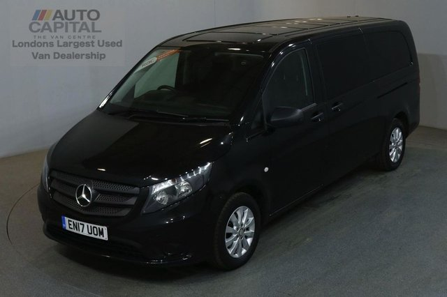 2017 17 MERCEDES-BENZ VITO 2.1 114 BLUETEC TOURER SELECT EXTRA LWB 136 BHP EURO 6 AIR CON 9 SEATER £23,490 PLUS VAT EURO 6 ENGINE