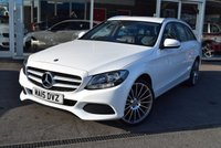 2015 MERCEDES-BENZ C CLASS 2.1 C220 BLUETEC SE EXECUTIVE 5d 170 BHP £15890.00