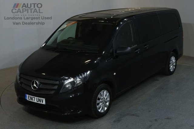 2017 17 MERCEDES-BENZ VITO 2.1 114 BLUETEC TOURER SELECT 136 BHP EXTRA LWB EURO 6 AIR CON 9 SEATER £21,990+VAT EURO 6 ENGINE