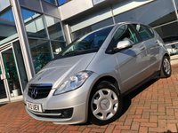 USED 2012 12 MERCEDES-BENZ A CLASS 1.5 A160 BLUEEFFICIENCY CLASSIC SE 5d 95 BHP