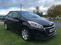 2016 PEUGEOT 208 1.6 BLUE HDI ACTIVE 5d free road tax 1 owner fsh 76000 miles  £5995.00