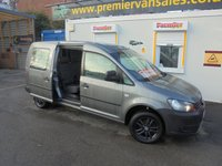 USED 2014 64 VOLKSWAGEN CADDY MAXI 1.6 C20 TDI FIVE SEAT KOMBI 102 BHP, FULL SERVICE HISTORY, LAST SERVICE BY VOLKSWAGEN MAIN DEALER AT 95,000 MILES  WWW.PREMIERVANSALES.CO.UK 0161 429 8644 !!!! FINANCE AVAILABLE !!!!