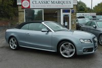 USED 2011 60 AUDI A5 CABRIOLET 2.0 TFSI S LINE 2d 208 BHP