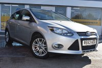 USED 2013 63 FORD FOCUS 1.0 TITANIUM 5d 124 BHP NO DEPOSIT FINANCE AVAILABLE