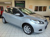 USED 2009 59 MAZDA 2 1.3 TS2 3d 84 BHP FULL MOT + SERVICE HISTORY + CD RADIO +3 DOORS + METALLIC PAINT + ALLOYS WHEELS + GREAT MPG + LOW INSURANCE COSTS