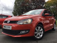 2014 VOLKSWAGEN POLO 1.2 MATCH EDITION 5d 59BHP £6490.00