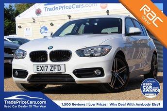 2017 BMW 1 SERIES 1.5 118I SPORT 5d 134 BHP £15950.00