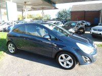 2011 VAUXHALL CORSA 1.2 SXI 3d 83 BHP 7 SERVICE STAMPS £3795.00