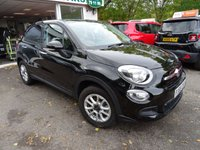 USED 2016 66 FIAT 500X 1.6 POP 5d 110 BHP ONLY 7,000 miles! Full Service History (Fiat + ourselves), MOT until October 2019, Balance of Fiat Warranty until October 2019