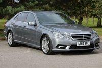 2012 MERCEDES-BENZ E CLASS 3.0 E350 CDI BLUEEFFICIENCY SPORT 4d AUTO 265 BHP £12980.00