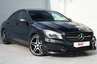USED 2014 14 MERCEDES-BENZ CLA 1.6 CLA180 AMG SPORT 4d AUTO 122 BHP 1 OWNER, FULL SERVICE HISTORY, AMG SPEC