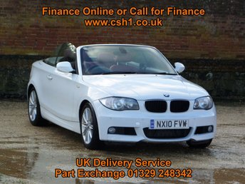 2010 BMW 1 SERIES 2.0 120D M SPORT 2d AUTO 175 BHP £7885.00