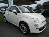 2013 FIAT 500 1.2 LOUNGE 3d 69 BHP ONE FORMER KEEPER £4695.00