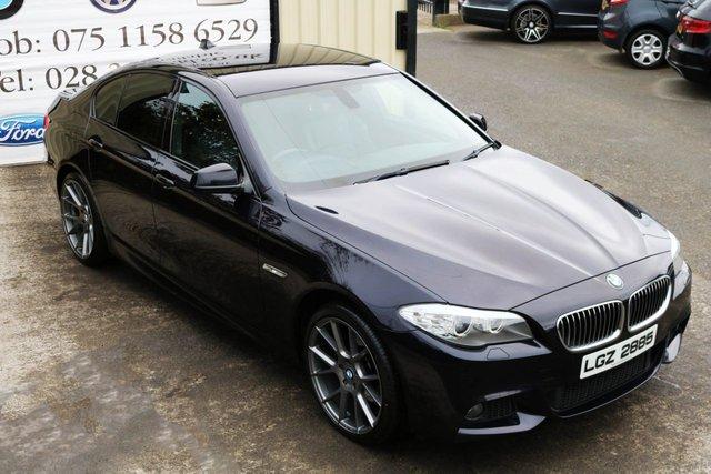 2011 BMW 5 SERIES 520D M SPORT AUTO PROFESSIONAL MEDIA 181 BHP (FINANCE & WARRANTY)