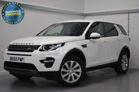 USED 2015 65 LAND ROVER DISCOVERY SPORT 2.0 TD4 SE TECH 5d AUTO 180 BHP